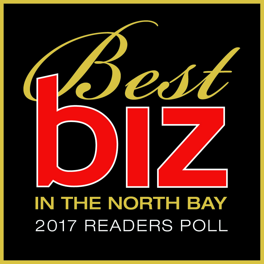 Best biz in the North Bay 2017 Readers Poll